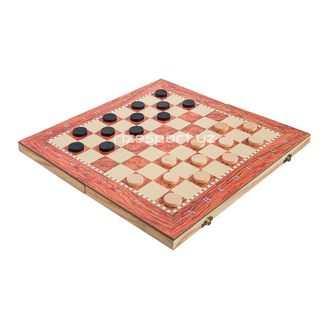 Chess 3 in 1 checkers